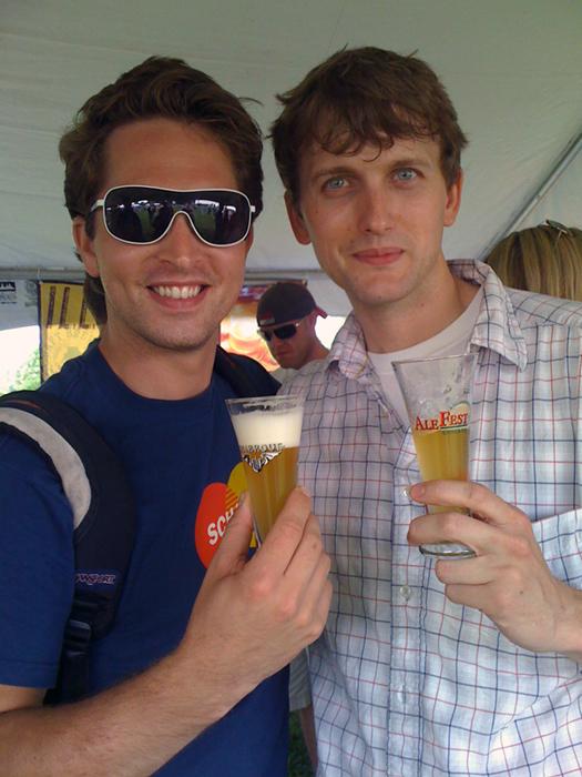 Ken & Brad At Alefest 2009